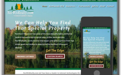 Real Estate Website - NorWisRealty.com