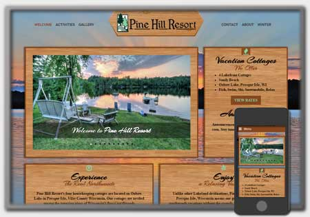 Website Launch: Pine Hill Resort