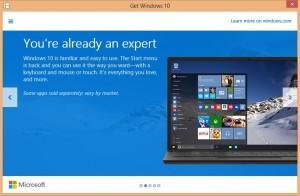 Windows 10 Upgrade New Start Menu with Metro