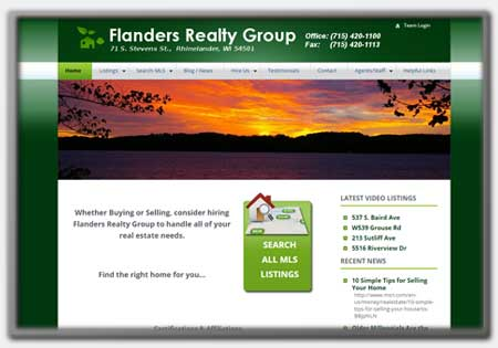 Real Estate Web Designs by Northwoods Web Designs