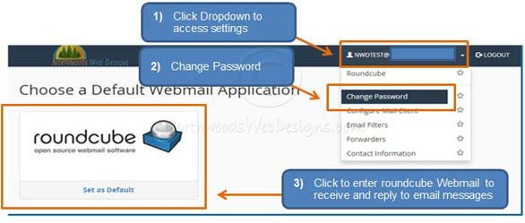 How to Login and Access Webmail - Knowledgebase - Northwoods Web Designs